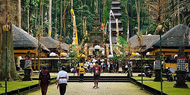 Pulau Bali Tempat Menarik Obyek Wisata Sangeh (Paket City Tour Lampung)