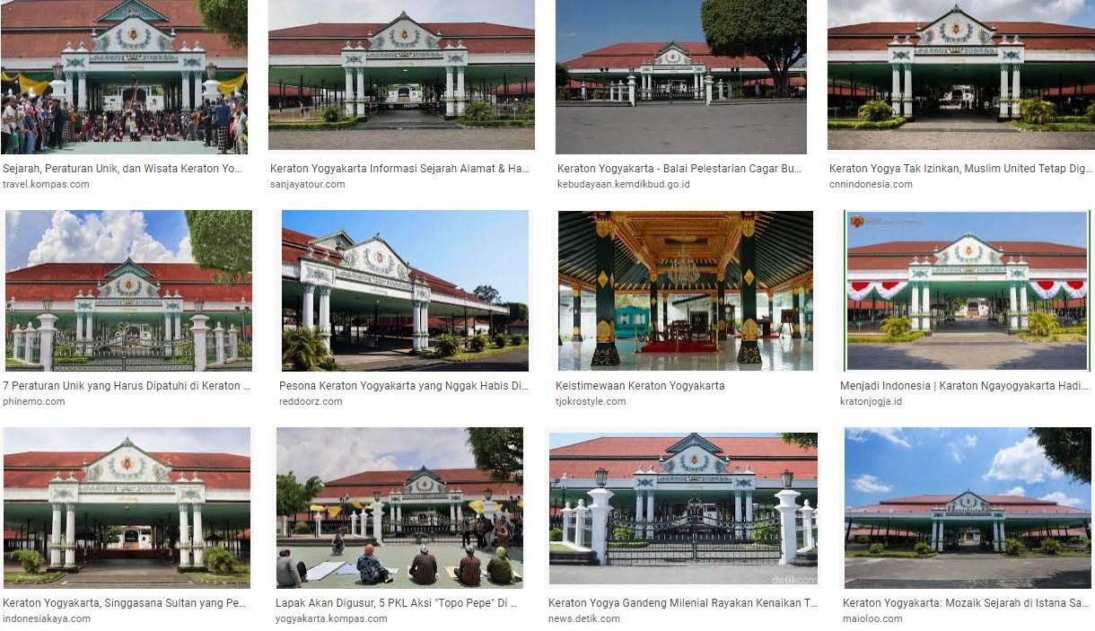 Sejarah Keraton Yogyakarta Jaman Dulu