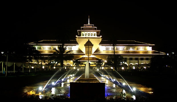 Tempat Liburan di BandungTempo Dulu, Gedung Sate (Aneka Tempat Wisata)