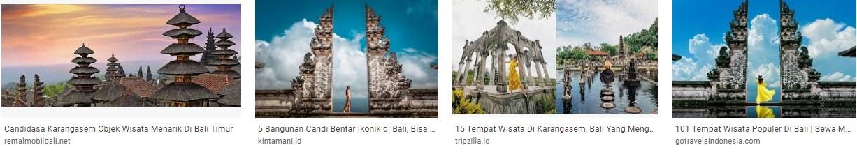 Tempat Wisata Candi Desa Bali