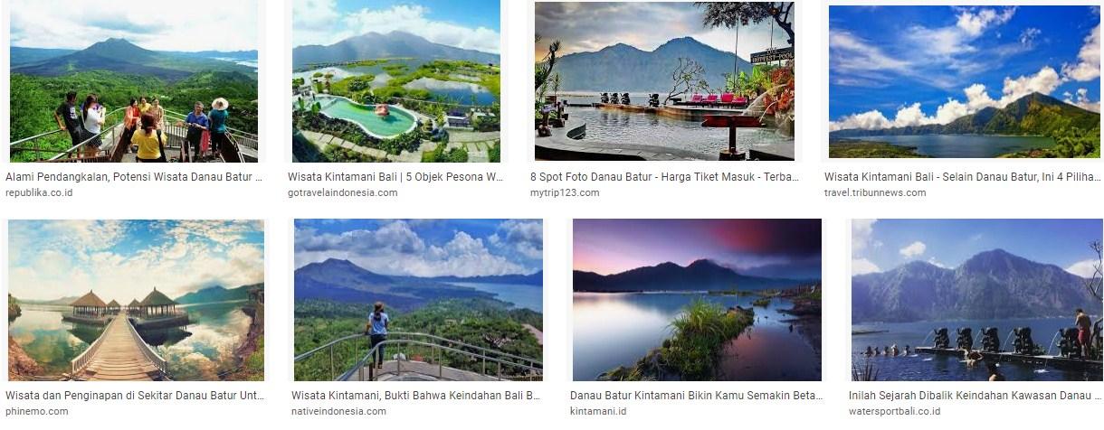 Tempat Wisata Danau Batur Kintamani Bali