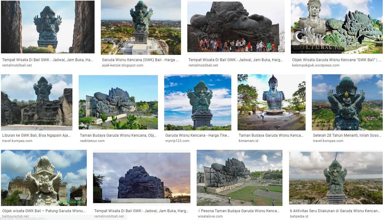 Tempat Wisata Garuda Wisnu Kencana Bali