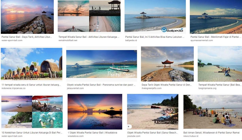 Tempat Wisata Pantai Sanur Bali