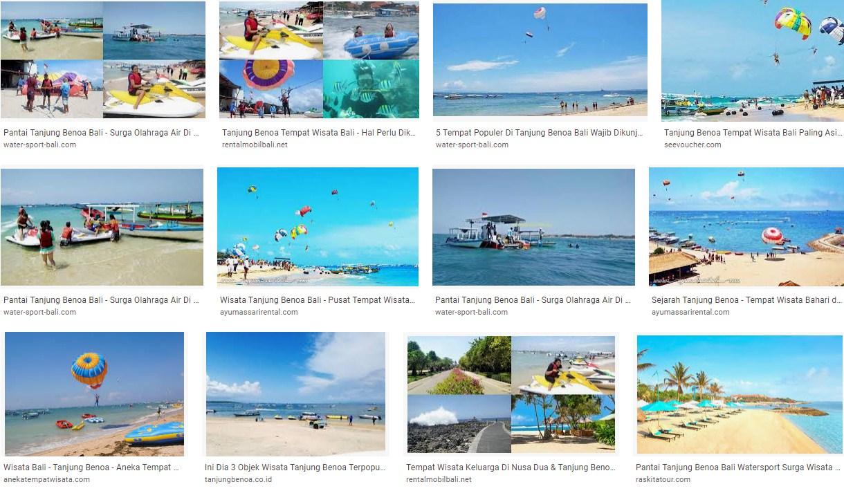 Tempat Wisata Tanjung Benoa Bali