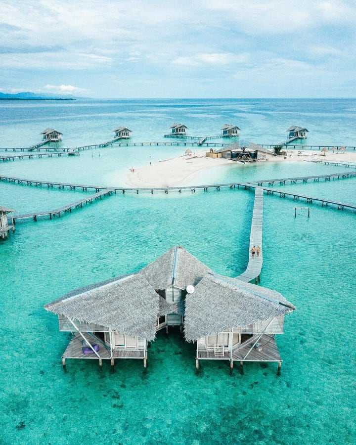 Tempat Wisata Indonesia Pantai Karang Citra di Gorontalo (qupas.id)