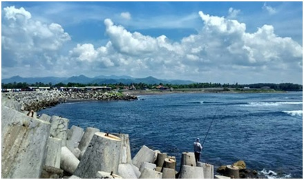 Pantai Glagah Wisata alam di Yogyakarta