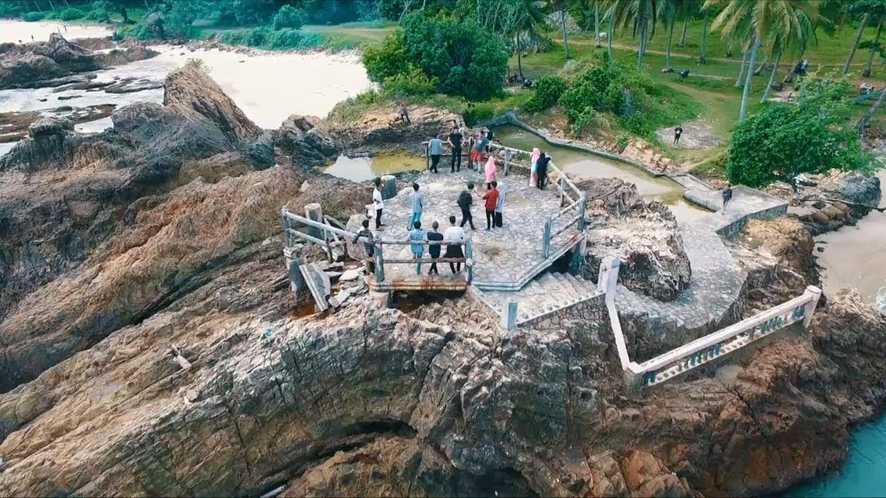a Pantai Marina di Lampung