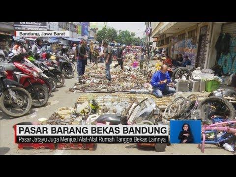 Pasar Barang Bekas di Bandung (YouTube.com)
