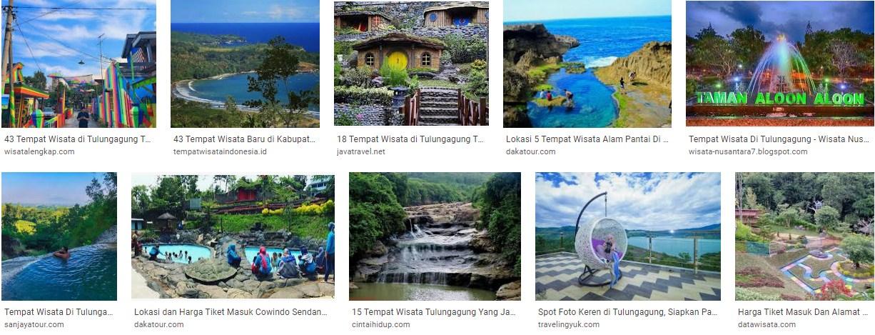 Spot Tempat dan Lokasi Wisata Di Tulungagung