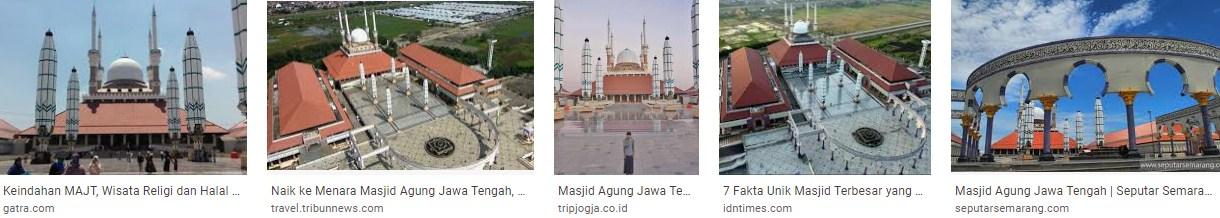 Unik dan Megah, Inilah Fakta Masjid Agung Jawa Tengah