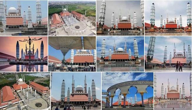 Wisata religi islami ke MAsjid Agung Semarang