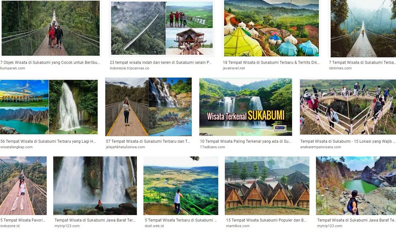 Tempat wisata Sukabumi Jawa Barat