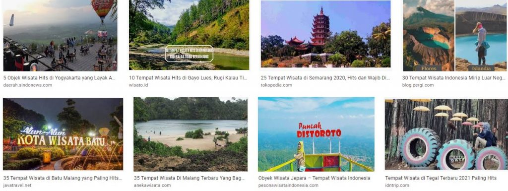 Tempat dan Obyek Wisata Indonesia yang Terbaru