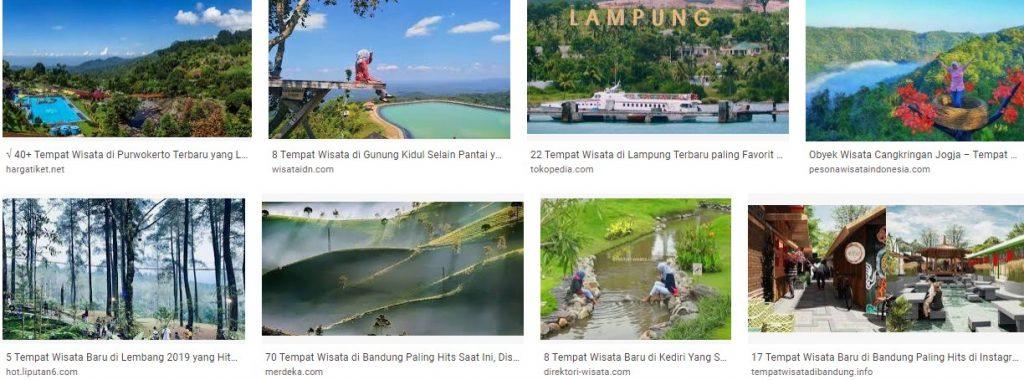 Tempat dan Obyek Wisata di Indonesia yang Hits