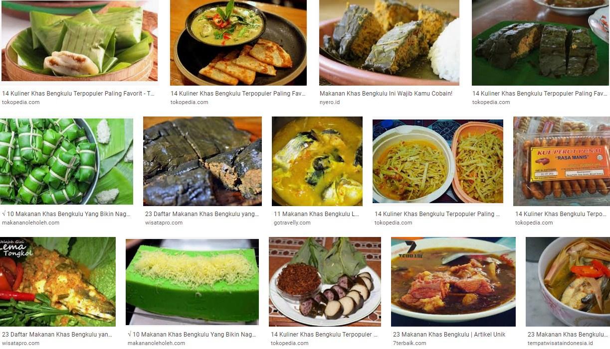 Aneka Makanan Khas Kota Bengkulu