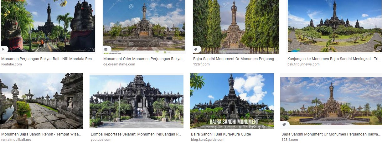 Monumen Bajra Sandhi Denpasat Bali