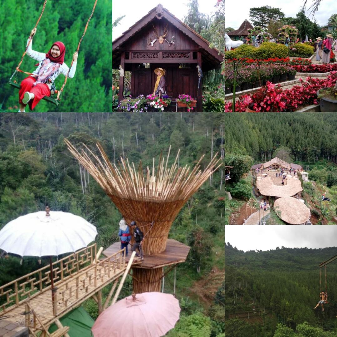 Wisata Alam Bandung Maribaya (mytriplefun.com)