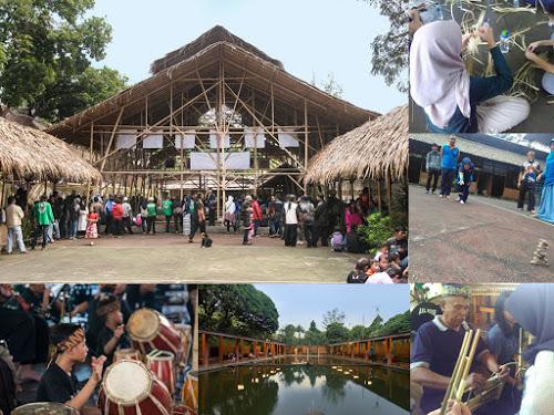 Wisata Kesenian Eco Banmbu di Cipaku Bandung (Seputar Bandung Raya)