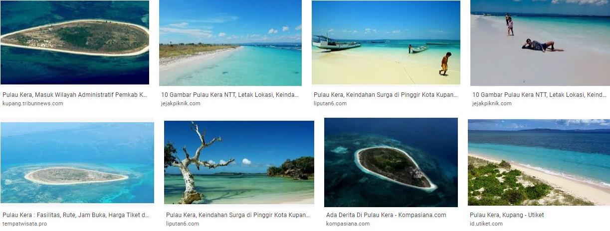 Pulau Semu dan Pulau Kera Kupang