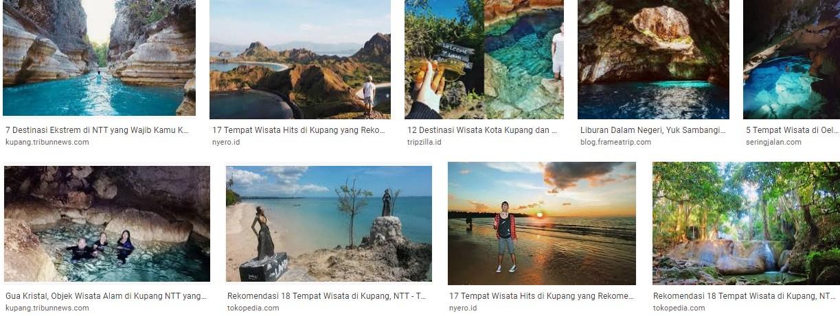 Wisata Menarik Gua Alam Kupang NTT