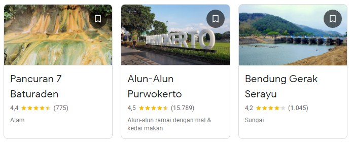 Objek wisata di Banyumas Purwokerto