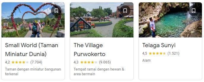 Tempat wisata Banyumas Purwokerto
