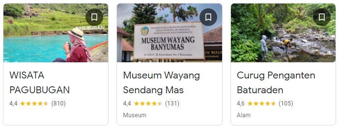 Tempat wisata Cilongok Ajibarang Banyumas
