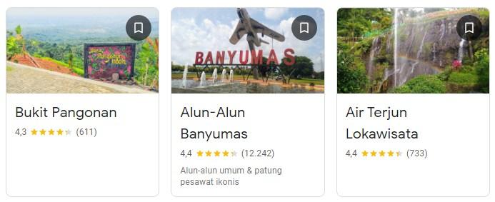 Tempat wisata di Sumbang Banyumas
