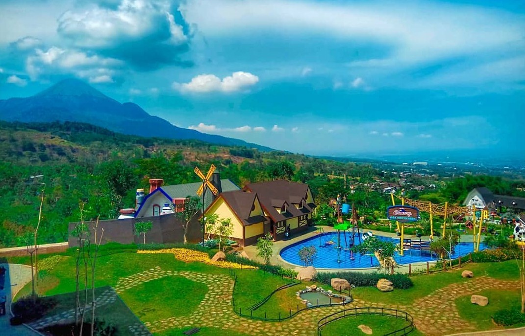 Obyek Wisata Cimory Pasuruan Dairyland Resto Tempat