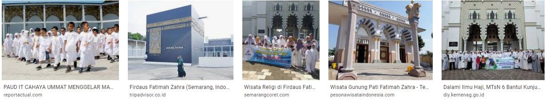 Tempat Wisata Religi Fatimah Azzahra Semarang - Tempat ...