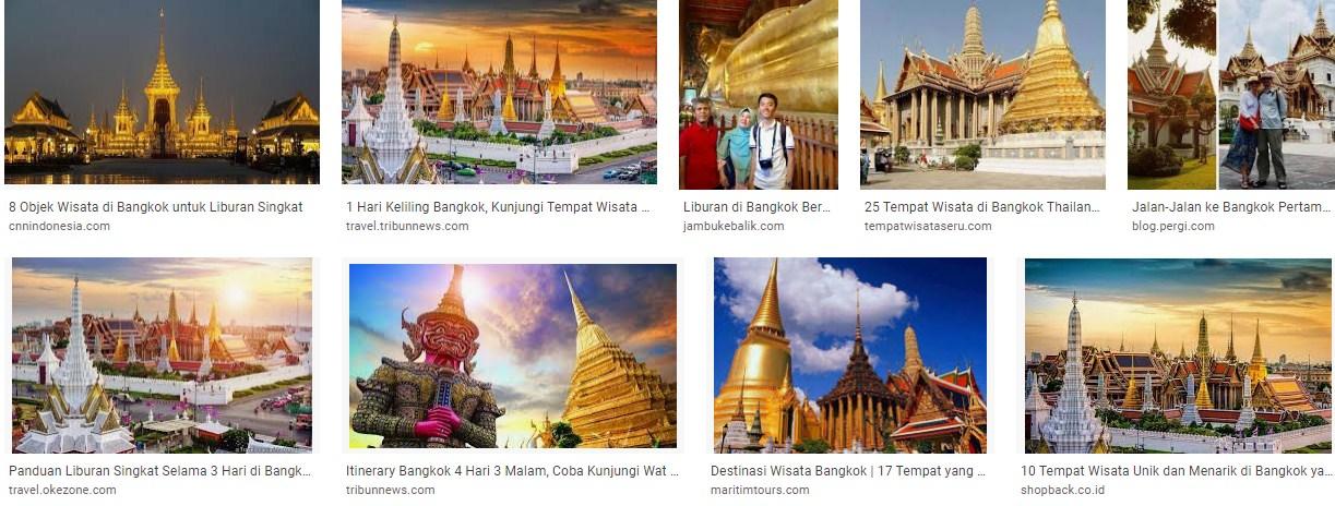 Tempat liburan favoritdi Bangkok