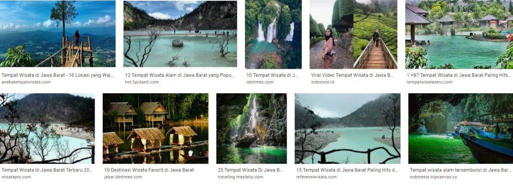 Tempat Wisata Populer di Bandung