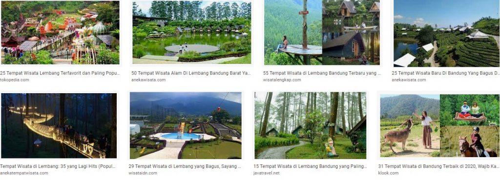Tempat Wisata Populer di Lembang Bandung