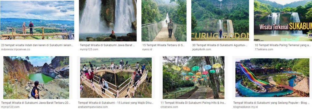 Tempat Wisata Populer di Sukabumi