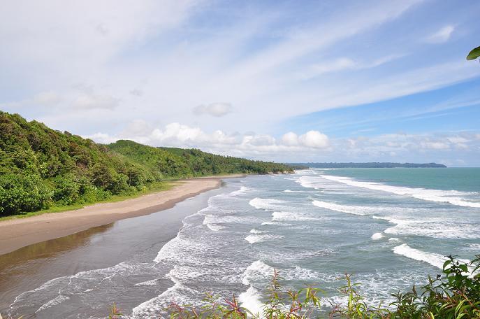 Tempat Wisata Pantai Karang Nini Pangandaran Jawa Barat