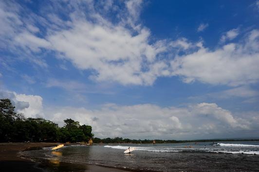 Tempat Wisata Pantai_Batu_Karas Pangandaran Jawa Barat