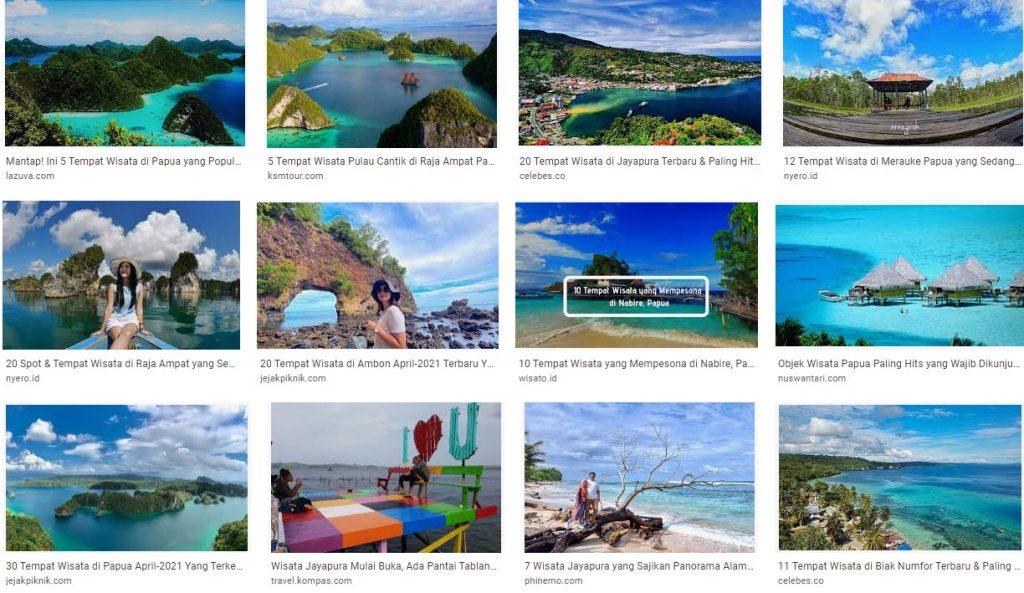 Tempat dan Obyek Wisata Jayapura Papua yang Hits