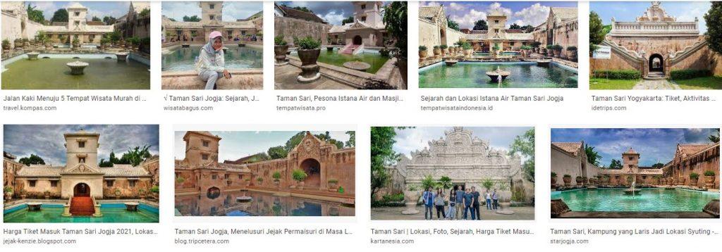 Obyek Wisata Taman Sari Kraton Yogyakarta