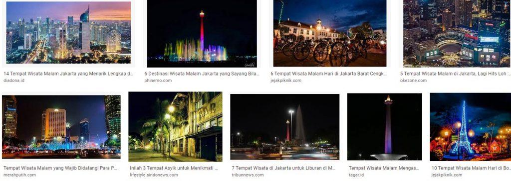 Tempat Wisata Malam Menarik Di Jakarta