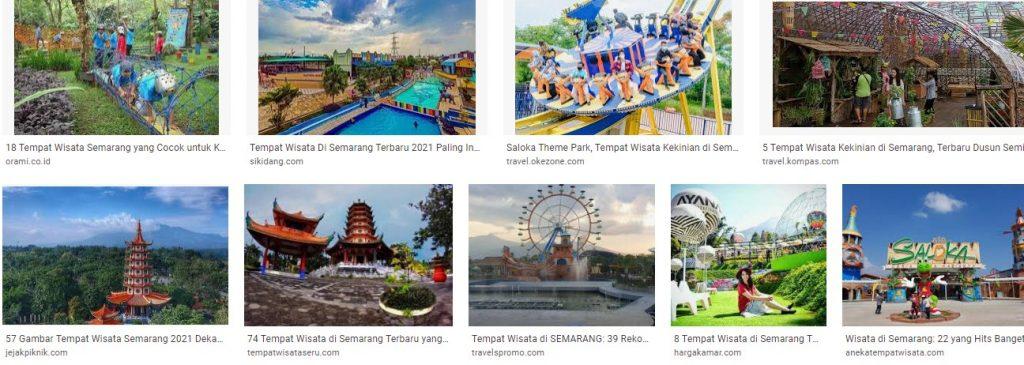 Tempat dan Obyek Wisata Di Semarang
